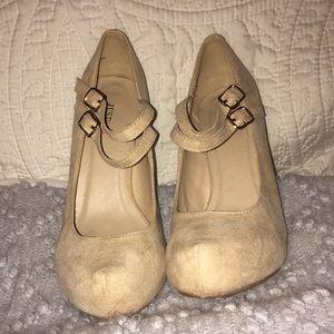 Nude just fab heels